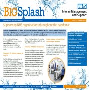 Screenshot of the Front Cover of Big Splash - Edition 57 Summer 2020
